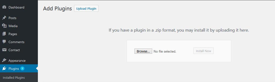How to install First Wordpress plugin?